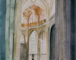 Cathedral at Segovia, Spain