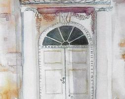 Hammond-Harwood House Front Door, Maryland Avenue