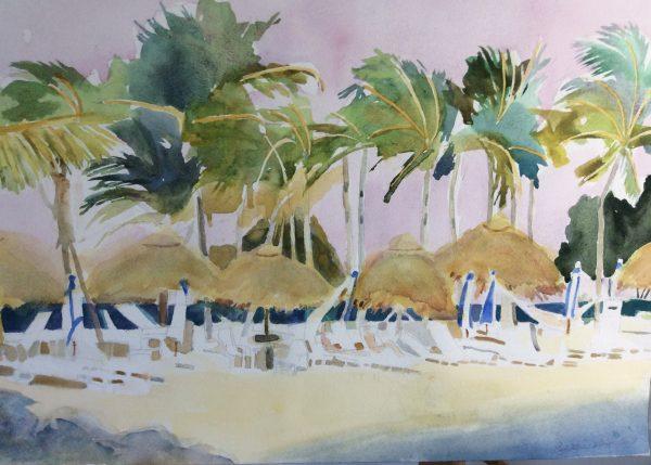 Wind in Key Largo
