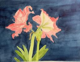 Inspiration, 2021, Original Watercolor