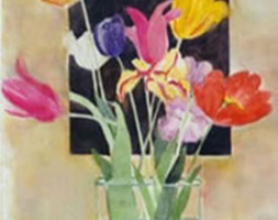 Tulips in a Square